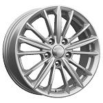 КиК КС871 (Focus) 6.5x16 5*108 ET50 d63.3  серебро